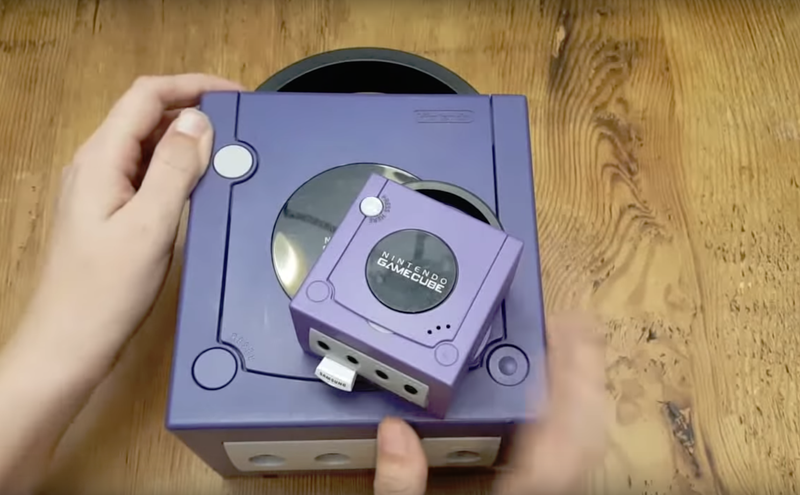 Illustration for article titled YouTuber's Tiny GameCube Is a Heartbreaking Look at What Could Have Been