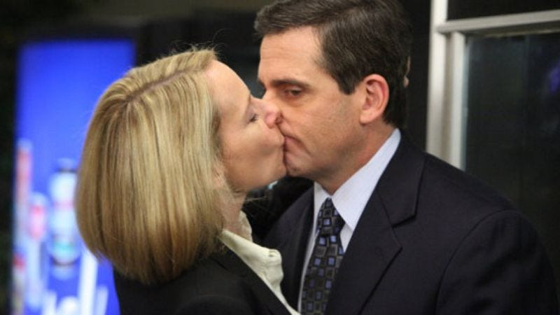 """Illustration for article titled The Office: """"PDA"""""""