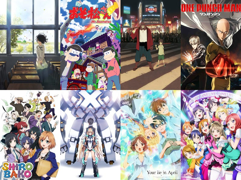 """Illustration for article titled Tokyo Anime Award Festival 2016 """"Anime of the Year"""" Nominees Announced"""