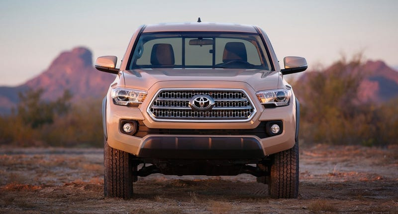 Illustration for article titled Report: 2016 Toyota Tacoma Priced From $22,200 To $39,375