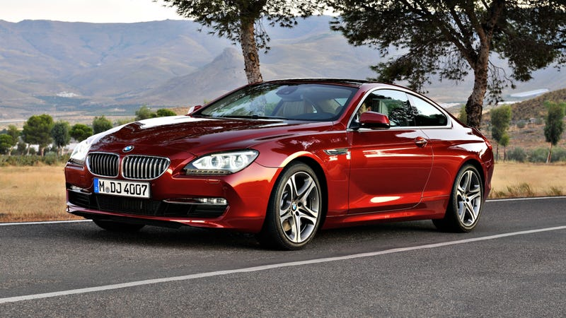 Illustration for article titled 2012 BMW 6 Series Coupe gets bigger engine, tauter skin
