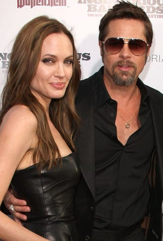 Illustration for article titled Brad & Angelina Are Not Splitting; Johnny Depp Is Not Dead