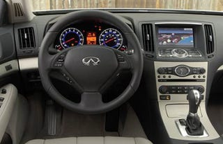 Illustration for article titled Infiniti G35 Gets Hard ... Drive