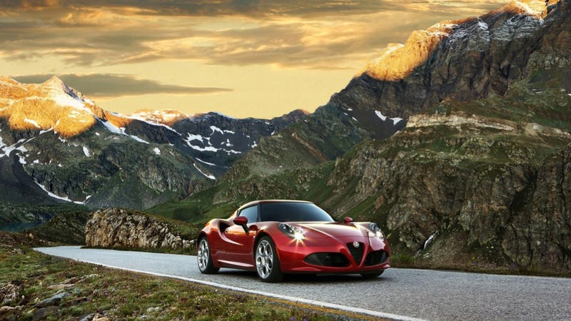 Illustration for article titled The Unbelievably Sexy Alfa Romeo 4C Can Be Yours For Just $54,000