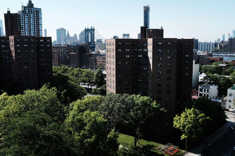 NYC public housing units in Brooklyn, N.Y.