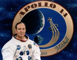 Former NASA astronaut Edgar Mitchell