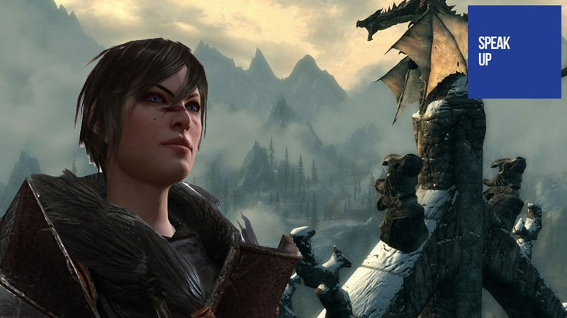 Illustration for article titled Skyrim is the Wrong Place to Look for Dragon Age III Inspiration