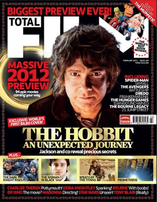 Illustration for article titled The Hobbit Scans from Total Film Magazine