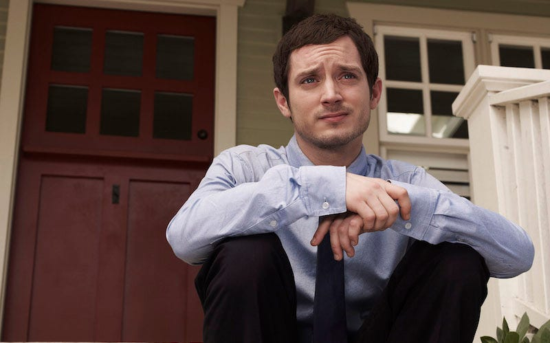 Illustration for article titled Elijah Wood Is the American Dirk Gently TV Show's American Sidekick