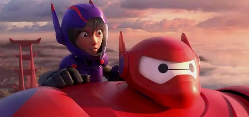 Illustration for article titled Los héroes de Big Hero 6 de Disney se presentan en un nuevo tráiler