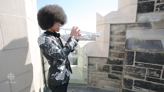 William Leathers is trying to raise money to attend the prestigious Juilliard School in New York City, where he'll be one of three trumpeters in the undergraduate program.