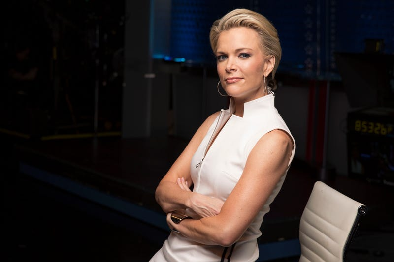 In this May 5, 2016 photo, Megyn Kelly poses for a portrait in New York. Donald Trump is a guest on Kelly's first Fox network special, which airs May 17.