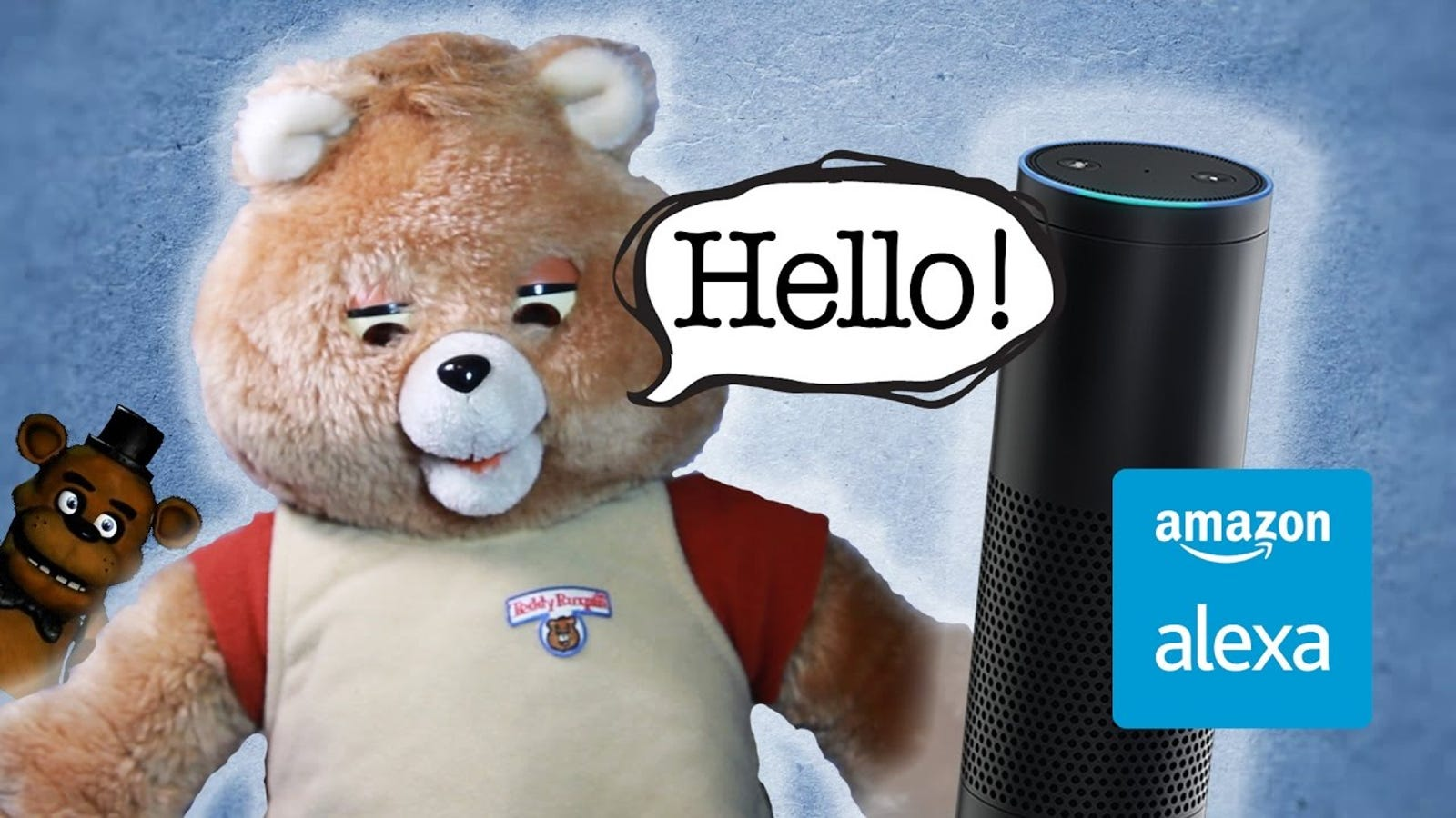 Delight or Horrify Your Friends By Cramming a DIY Alexa Into a Teddy Ruxpin