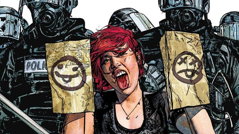 Scarlet #4 (Image: Marvel Comics / Icon Comics