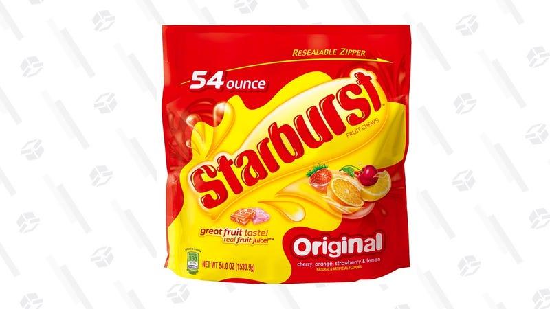 Starburst Original Big Bag 54 oz.   $8   Amazon