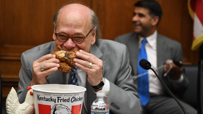 Illustration for article titled Bucket of KFC joined a Congressional hearing today