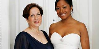 Lauren Williams with her mother, Andrea Williams