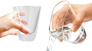 Illustration for article titled Squishy Glassware Is Actually Made of Magical Crystal Clear Silicone