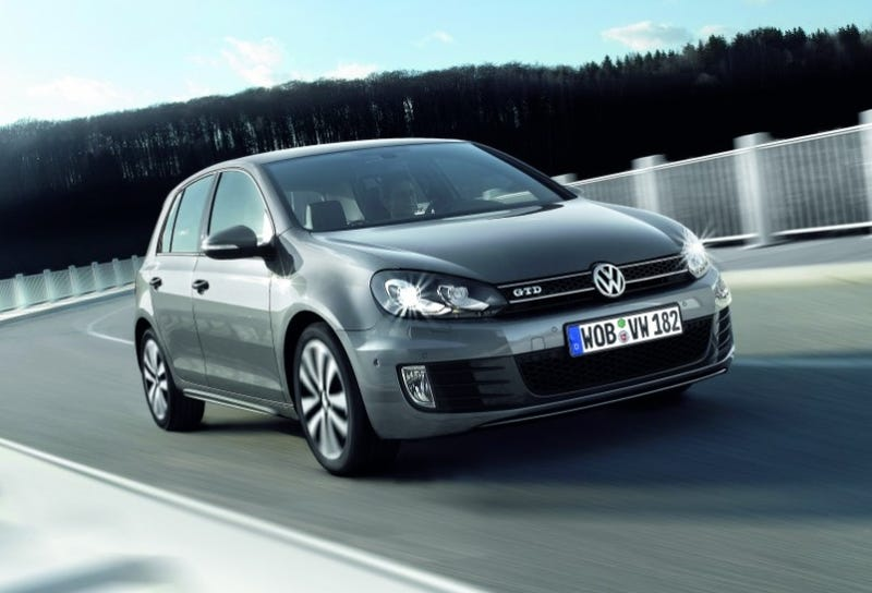 Illustration for article titled Volkswagen Golf GTD: GTI Style With Diesel Economy