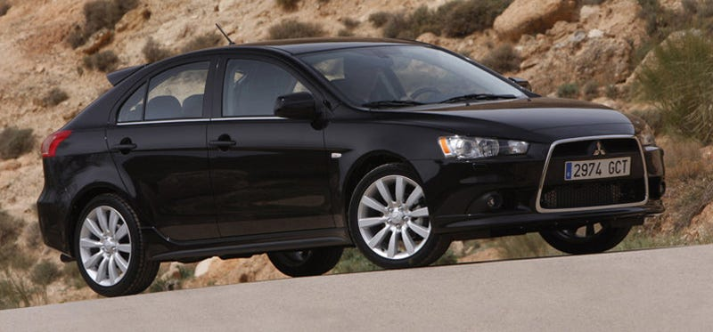 Illustration for article titled 2010 Mitsubishi Lancer Sportback Coming To America, Five-Door Style