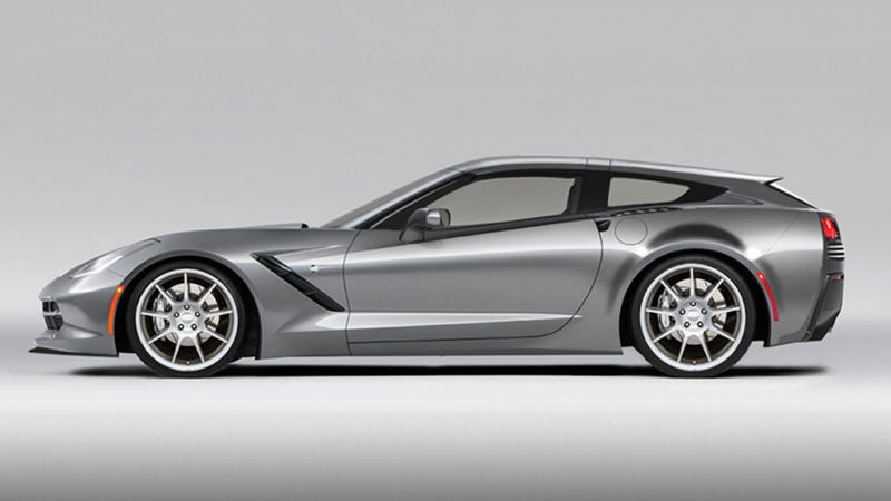 Illustration for article titled The Callaway C21 AeroWagon Is The Corvette Stingray Shooting Brake We Need