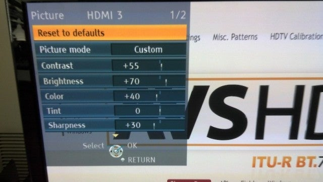 How to Calibrate Your HDTV for Better Video Quality in 30