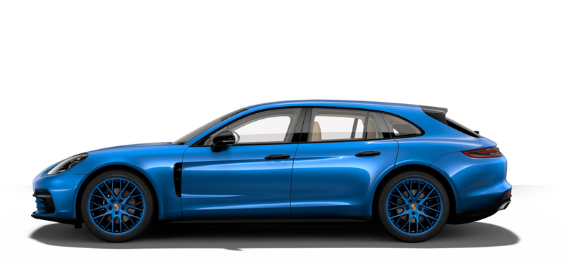 Illustration for article titled The Porsche Panamera Sport Turismo Configurator Is Up, So Make Your Dream Porsche Wagon
