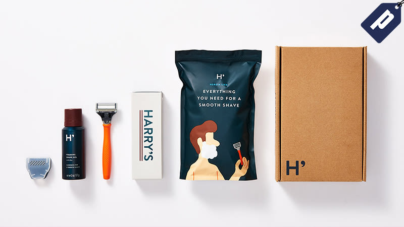Illustration for article titled Get A Free Harry's Razor & Shaving Gel, Just Pay $3 For Shipping At Sign-Up