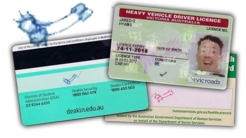 Illustration for article titled Australian Guy Fights For Right To Use Penis Doodle As Driver's License Signature