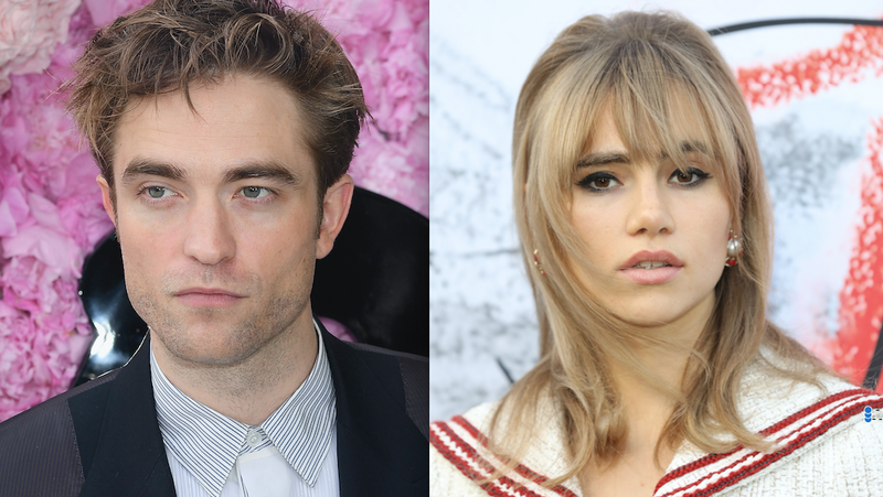 Illustration for article titled Robert Pattinson and Suki Waterhouse Snogged, Innit