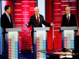 Recent GOP presidential debate (Getty Images)