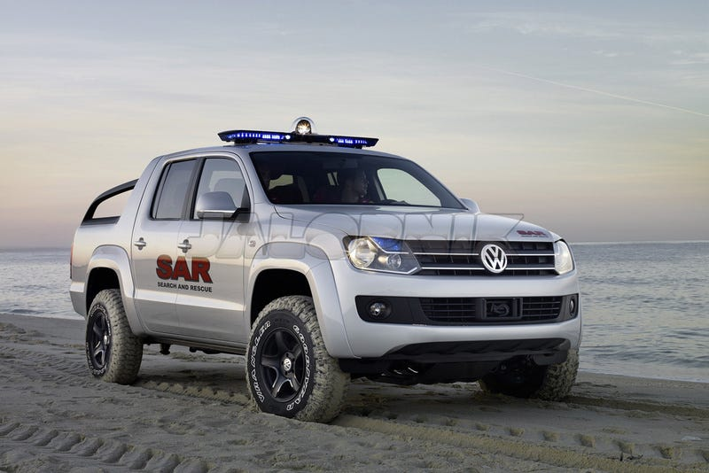 Illustration for article titled Volkswagen Amarok: Hungry Like The Wolf