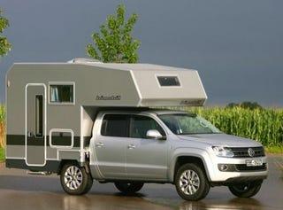 Illustration for article titled Volkswagen Amarok Camper: Please Don't Blame It On The Recession