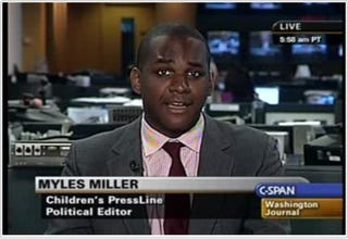 Teen phenom Myles Miller heads to the Huffington Post. (Google)