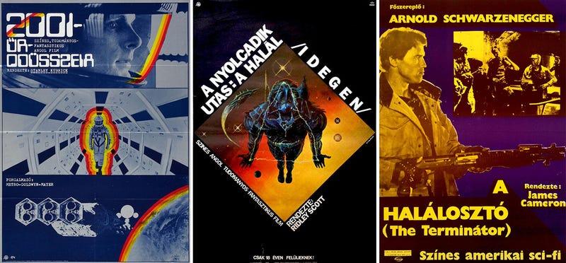 25 pósters únicos de clásicos de la ciencia-ficción