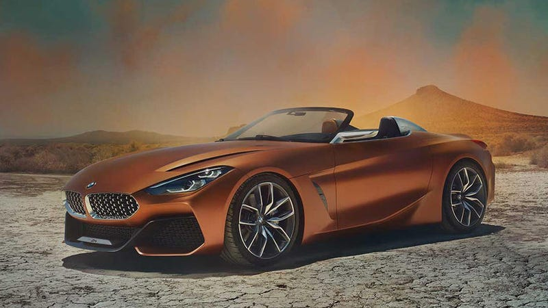 Illustration for article titled The Gorgeous BMW Z4 Concept Proves The Sports Car Isn't Dead