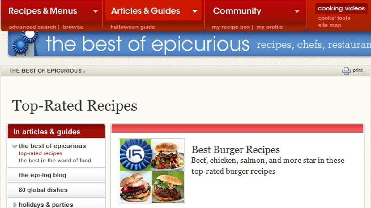 Five best recipe search tools forumfinder Gallery