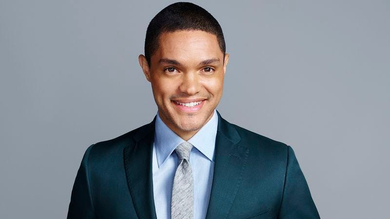 Illustration for article titled Cautious Trevor Noah brings The Daily Show back with nary a scratch or dent