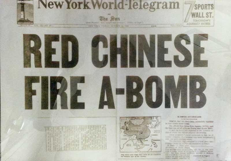 """Illustration for article titled The U.S. Considered An """"Accidental"""" Bombing Of China's Nuke Facilities"""