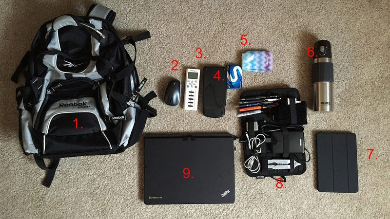 Illustration for article titled The Computer Science Student's Bag