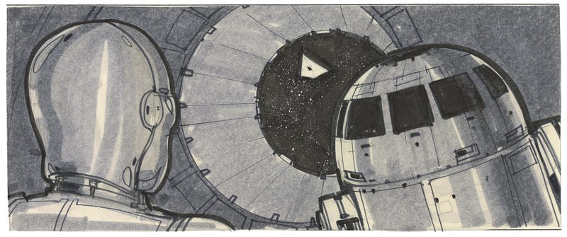 Illustration for article titled Never-Before-Seen Star Wars Storyboards Show The Original Trilogy Anew