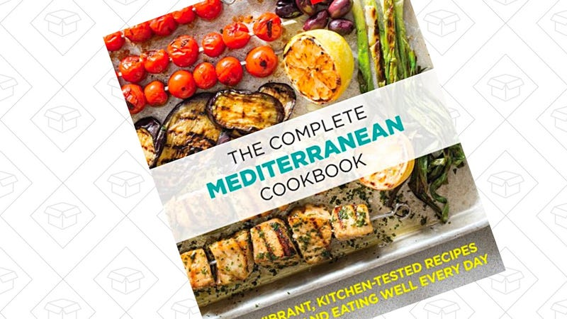 The Complete Mediterranean Cookbook [Kindle] | $5 | Amazon