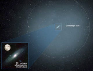 Illustration for article titled Andromeda And The Milky Way Might Collide Sooner Than We Think