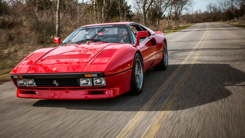 Illustration for article titled The Ferrari 288 GTO is a batshit car from a batshit time