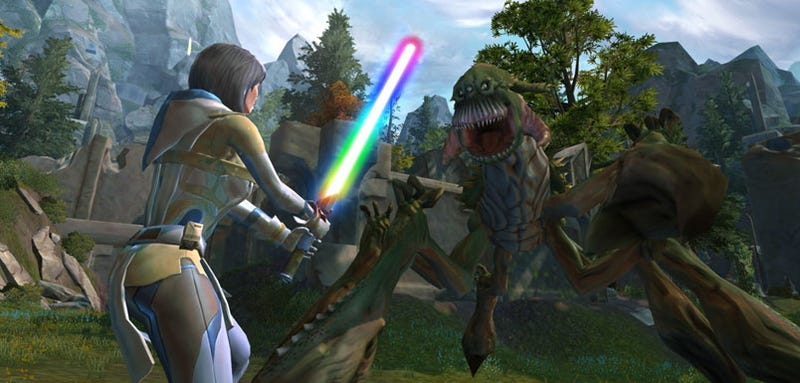 Illustration for article titled BioWare Lifts Filter On Gay, Lesbian Star Wars Discussion, Issues Apology