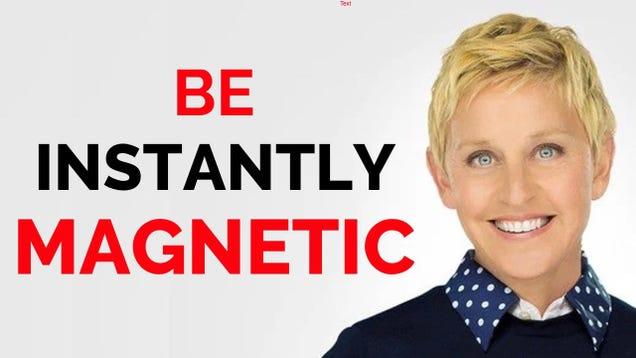 Three Types of Jokes Ellen DeGeneres Uses to Make People Instantly Like Her