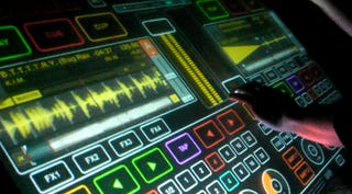 Illustration for article titled A Glimpse of the Multi-Touch DJing of the Future