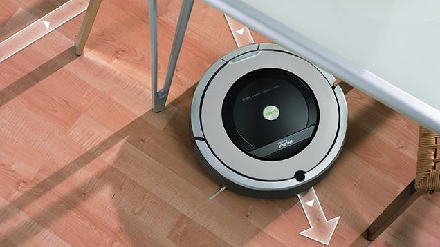 Put the Broom Away and Grab a Refurbished Roomba 860 $200, Today Only