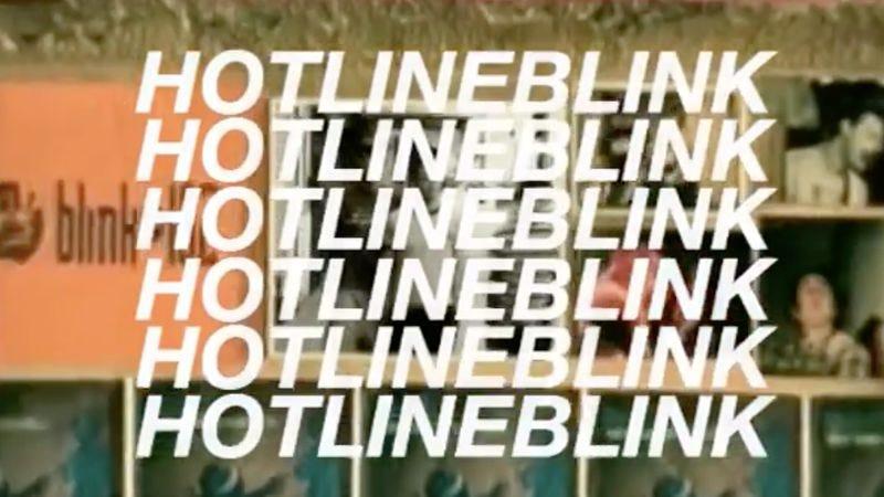 """Illustration for article titled Drake and Blink-182 collide in """"Hotline Blink"""""""