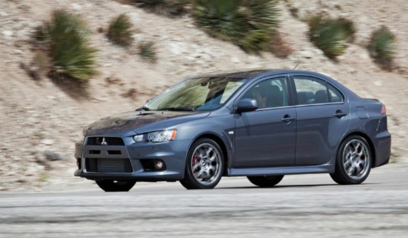 Illustration for article titled Will The Mitsubishi Evo Be Turned Into Some Kind Of Crossover Coupe?